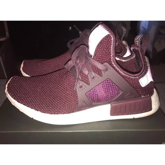 840bd01de adidas Shoes - Adidas NMD XR1 Dark Burgundy Vapour Pink BY9820